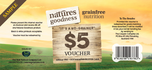 Natures Goodness Voucher